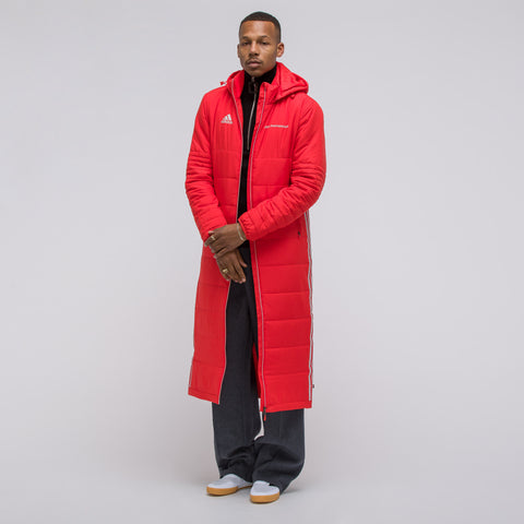Gosha Rubchinskiy x adidas Wind Coat in Red - Notre
