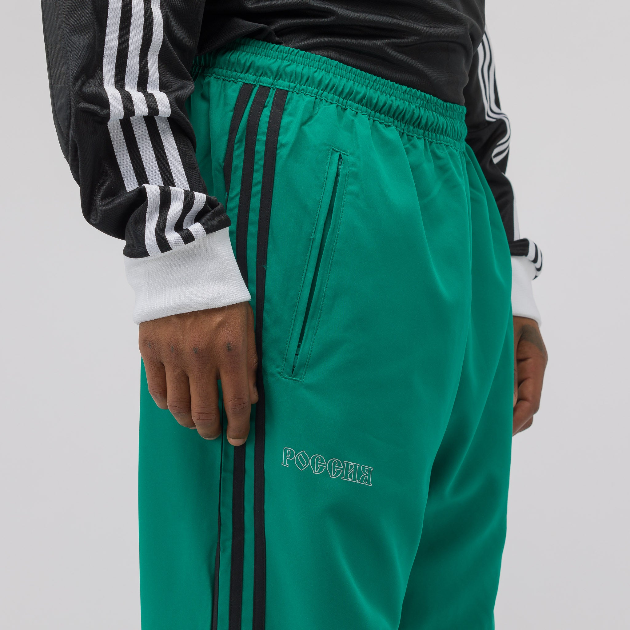 x adidas Woven Pants in Teal