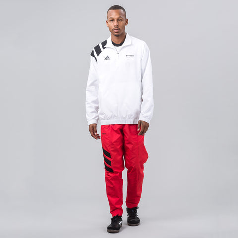 Gosha Rubchinskiy x adidas Zip Collar Jacket in White - Notre