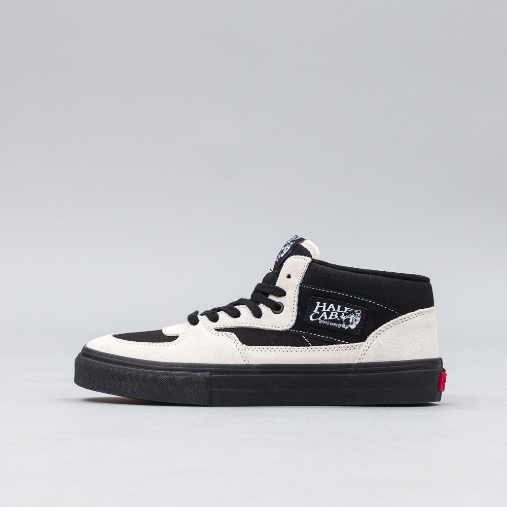 Gosha Rubchinskiy X Vans Half Cab High in Black/White