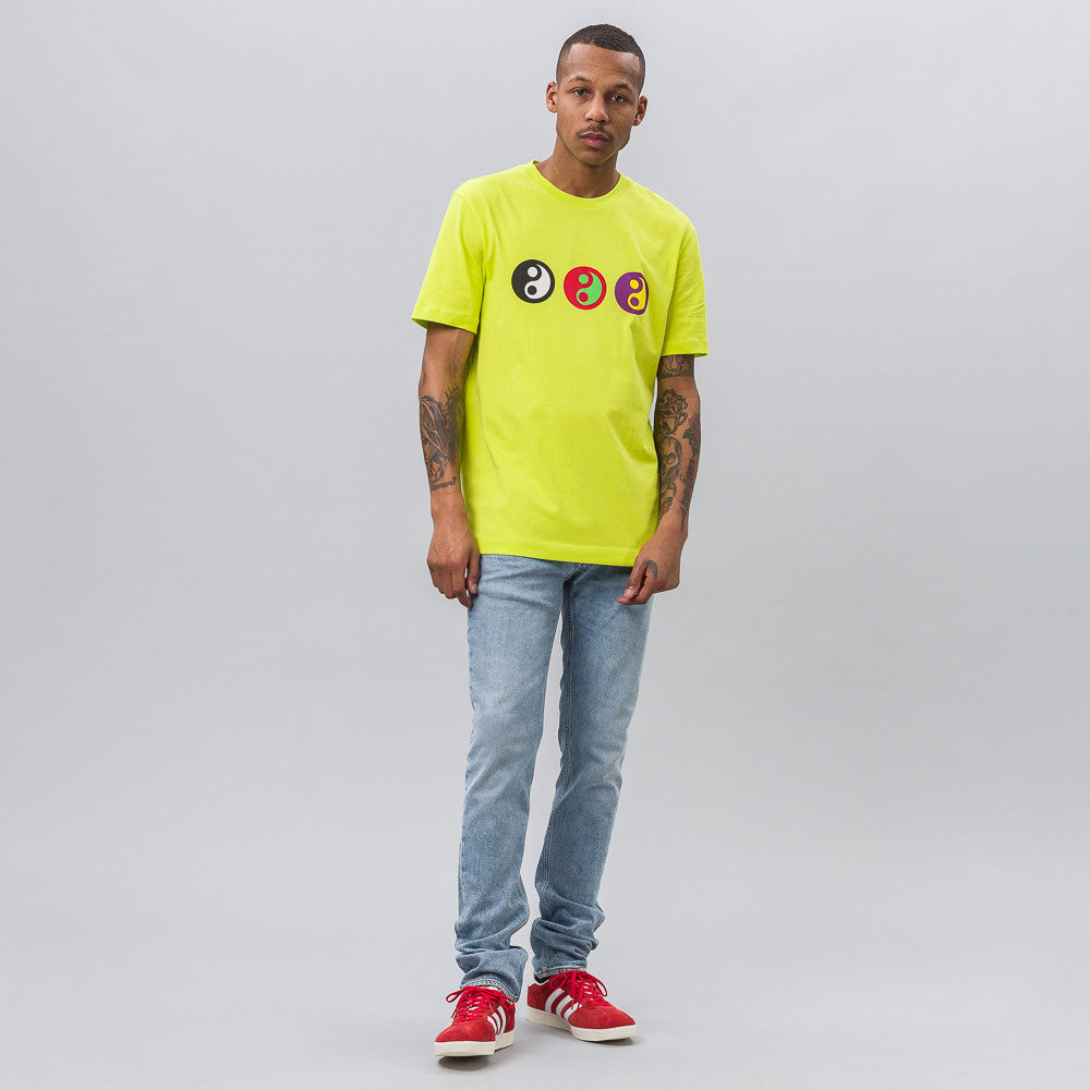Yin Yang T-Shirt in Lime
