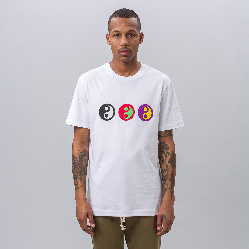 Yin Yang T-Shirt in White