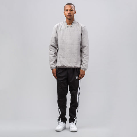 Gosha Rubchinskiy x adidas Quilted Pullover in Grey - Notre