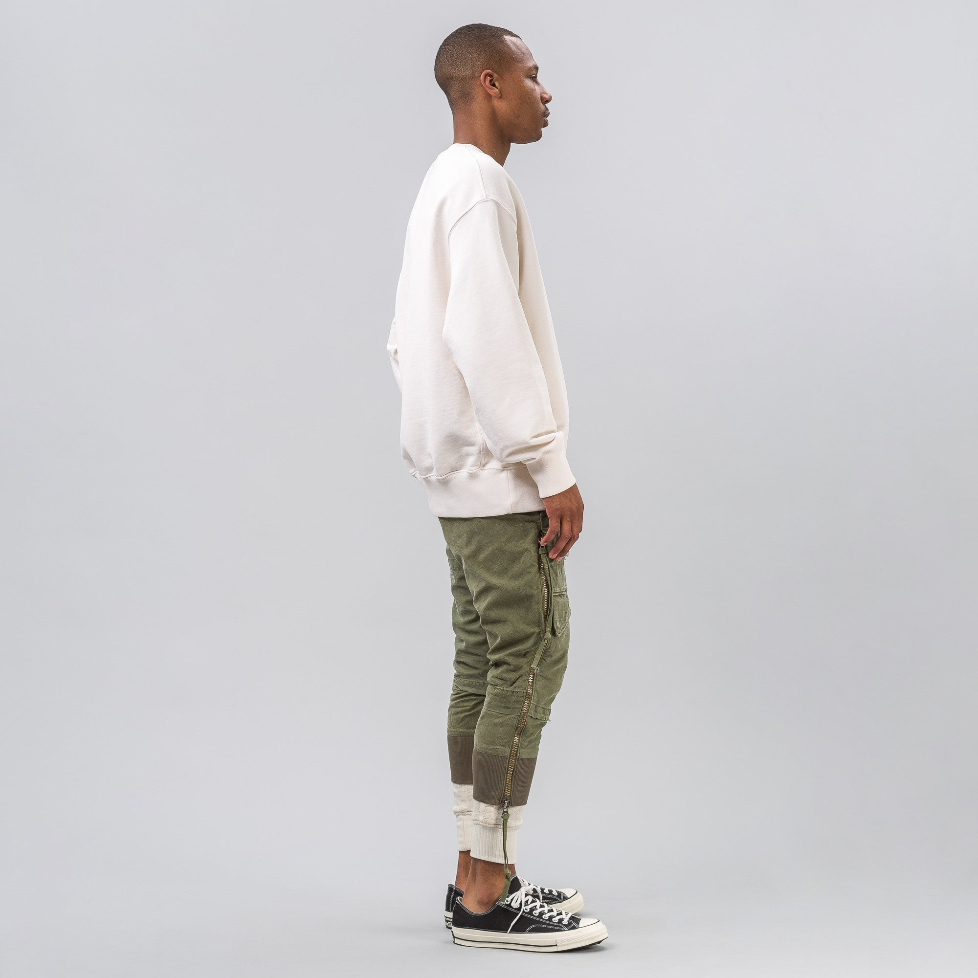 Army Jacket  Lounge Pant in Olive