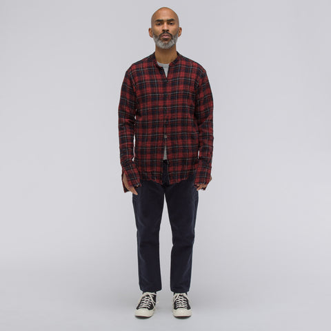 Greg Lauren Lodged Washed Wool Studio Shirt - Notre