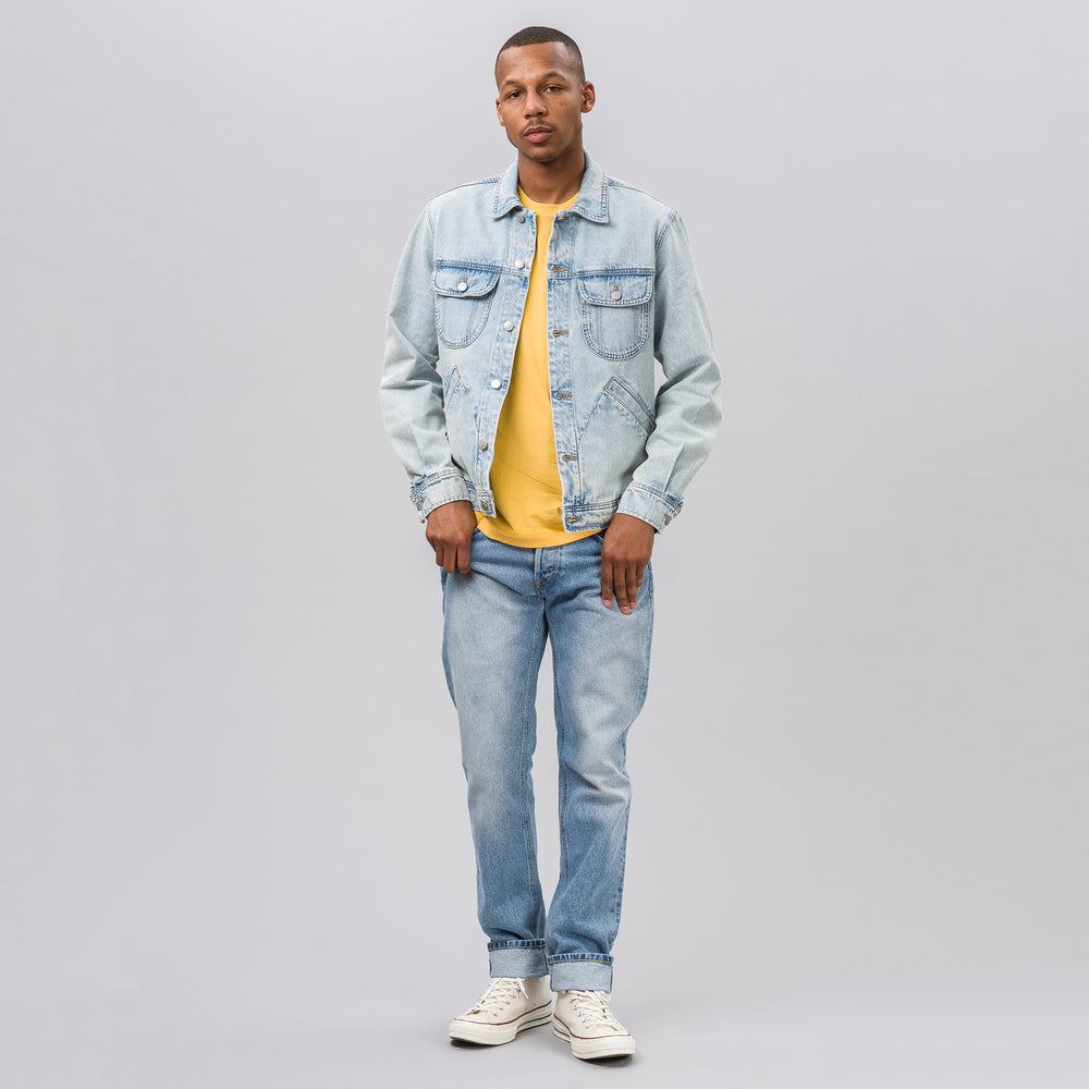 Guess x A$AP Rocky Unisex Denim Jacket in Light Wash - Notre