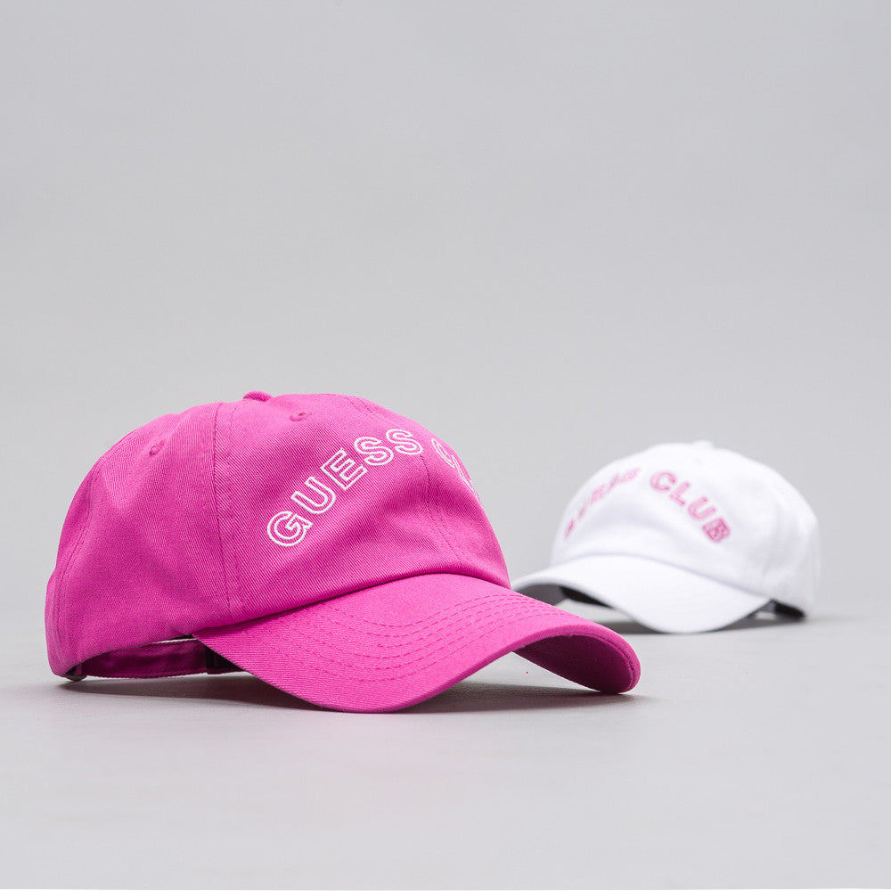 Guess x A$AP Rocky Hat Pack in Phlox Pink/White (2-Pack) - Notre