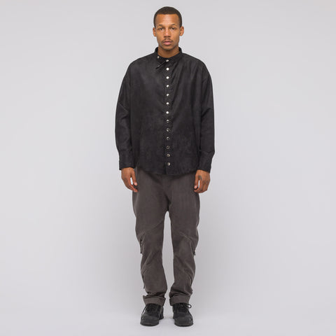 GutterTM Collared Shirt in Black - Notre