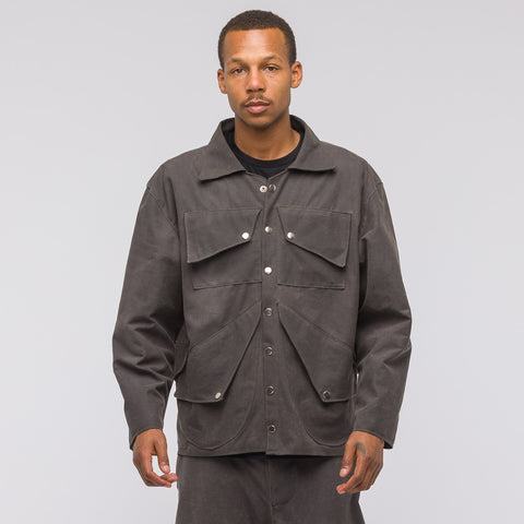 GutterTM Waxed Canvas Jacket in Grey - Notre