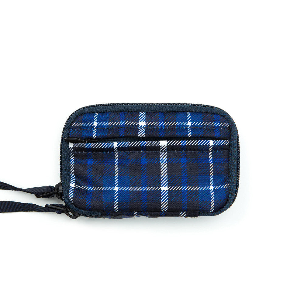 Head Porter - Highland Zip Key Case in Blue - Notre - 1