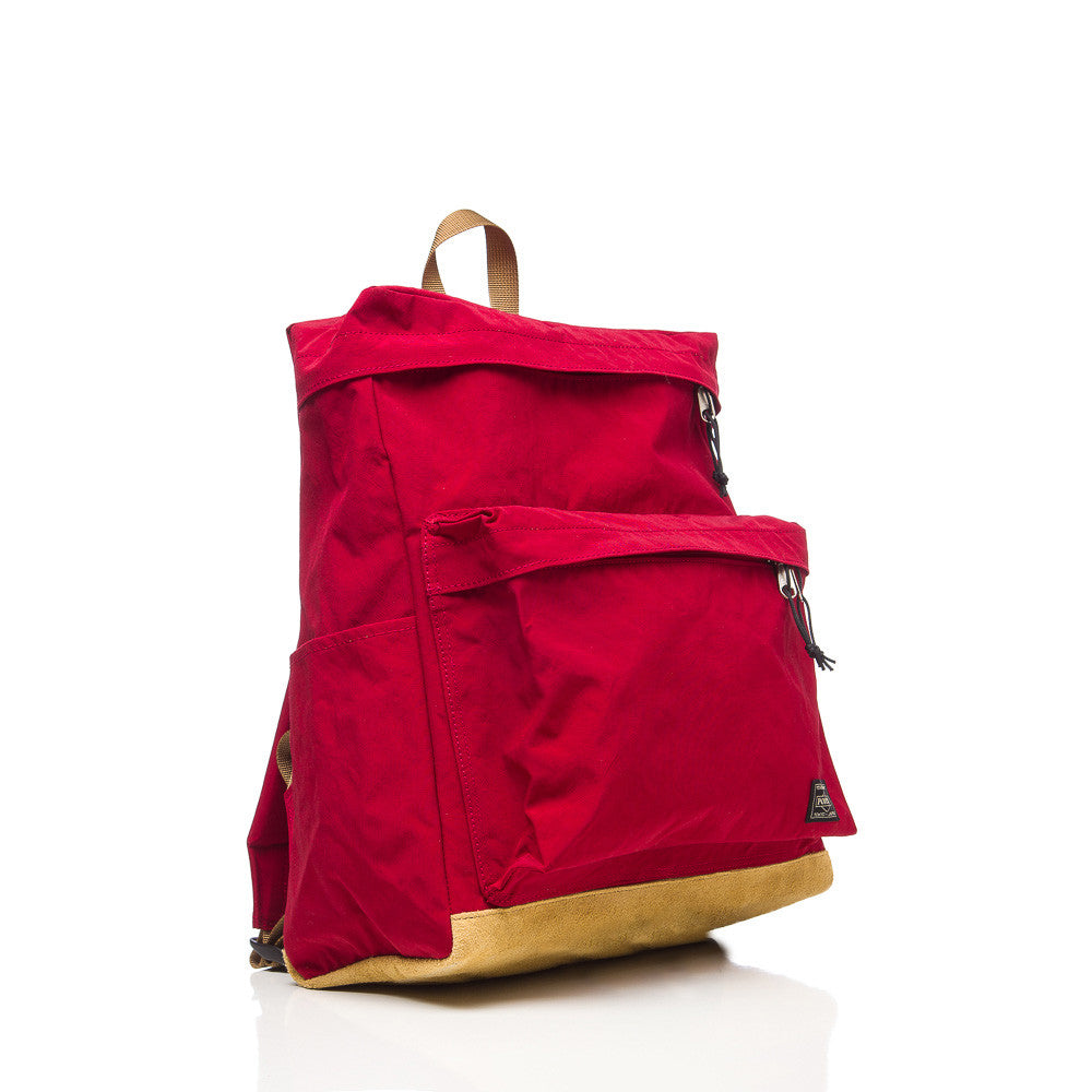 Head Porter Jackson Day Pack in Red Front View