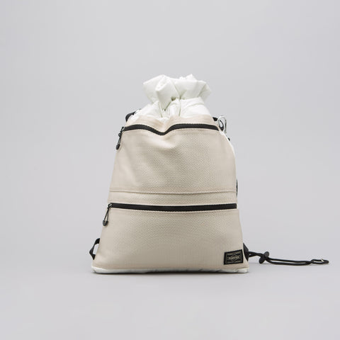 Head Porter Lumiere Shoulder Bag in Ivory - Notre