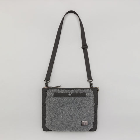 Head Porter KERRY Shoulder Bag in Black - Notre