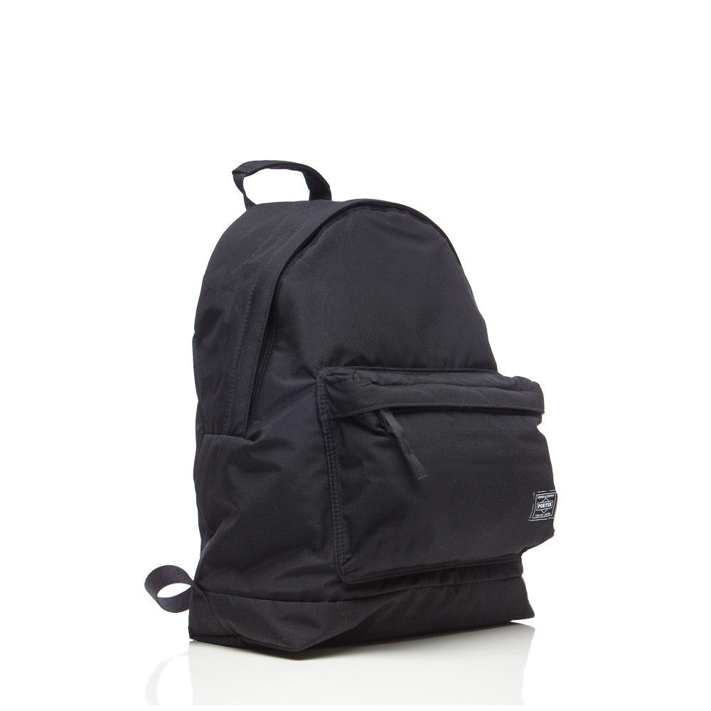 Head Porter Yukon Day Pack in Black Front View