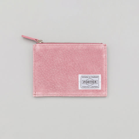 Head Porter MALMO Zip Wallet in Pink - Notre