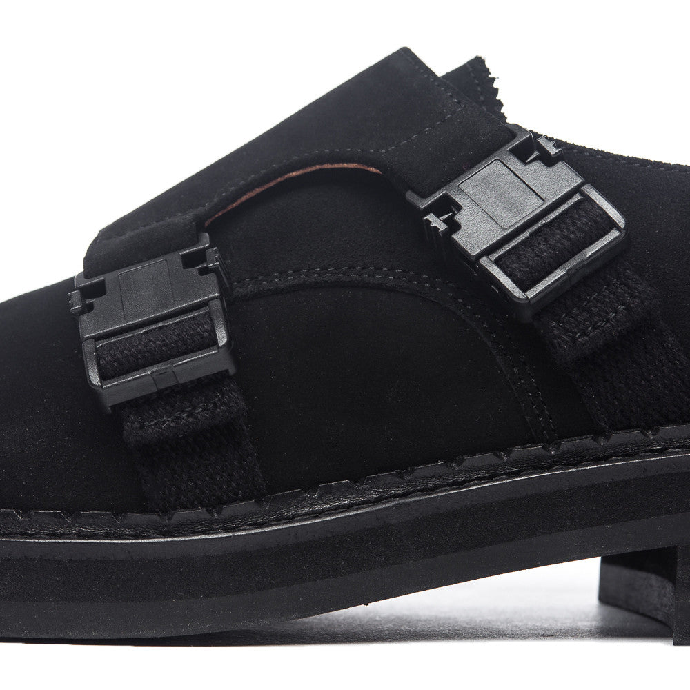 Neo Monk Suede in Black