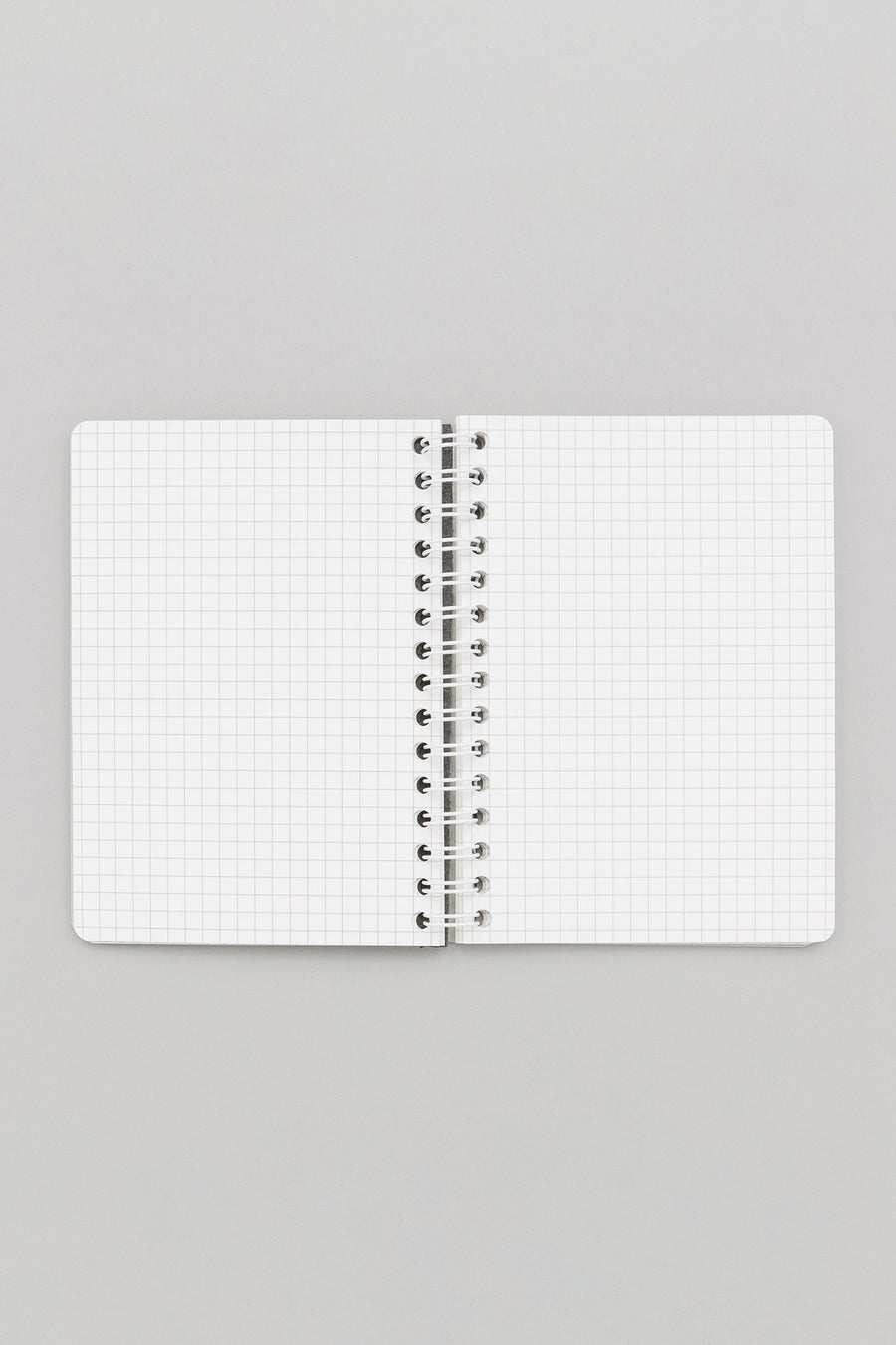 Hender Scheme Removable Ring Notebook in Black Grid - Notre