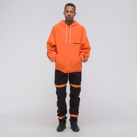Heron Preston Chromed Eggs Hooded Sweatshirt in Orange - Notre