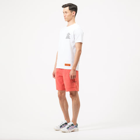 Heron Preston CTNMB Sweat Shorts in Red/Pink - Notre