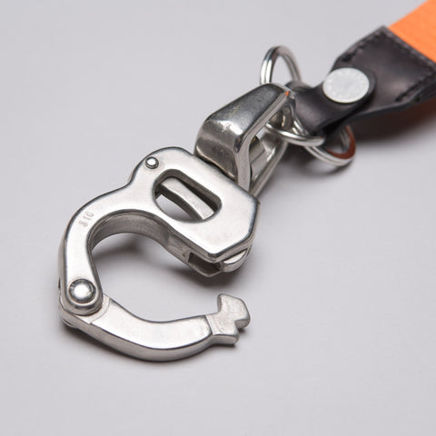 Heron Preston CTNMB Tape Keychain in Silver/Orange - Notre