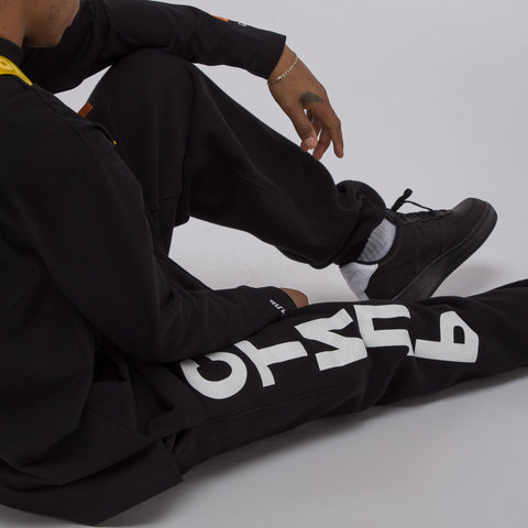 Heron Preston CTNMB Track Pants in Black/White - Notre