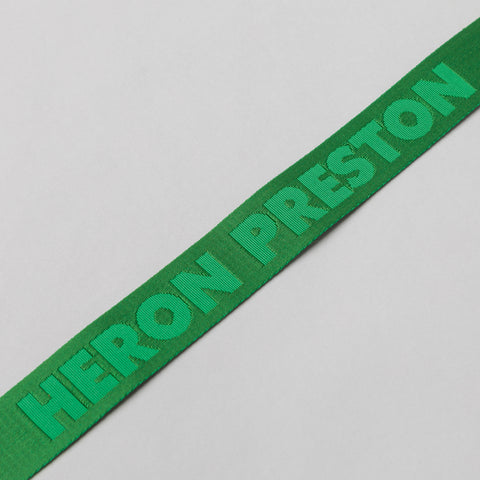 Heron Preston Heron Preston Belt in Green - Notre