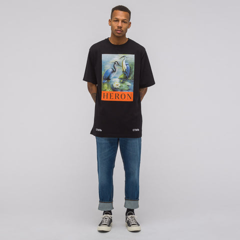 Heron Preston Herons Jersey T-Shirt in Black Multi - Notre