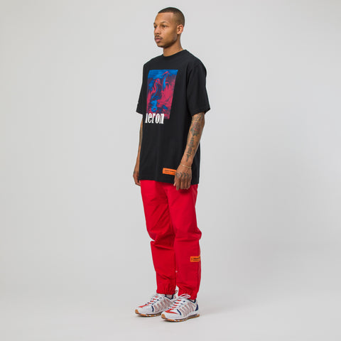 Heron Preston Herons T-Shirt in Red/Blue/Black - Notre