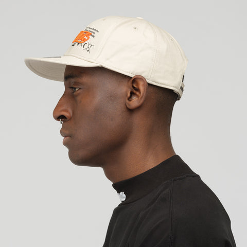 Heron Preston CNTMB Stamp Baseball Cap in Beige - Notre