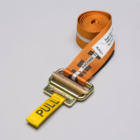 Heron Preston Jacquard Tape Belt in Multicolor White - Notre