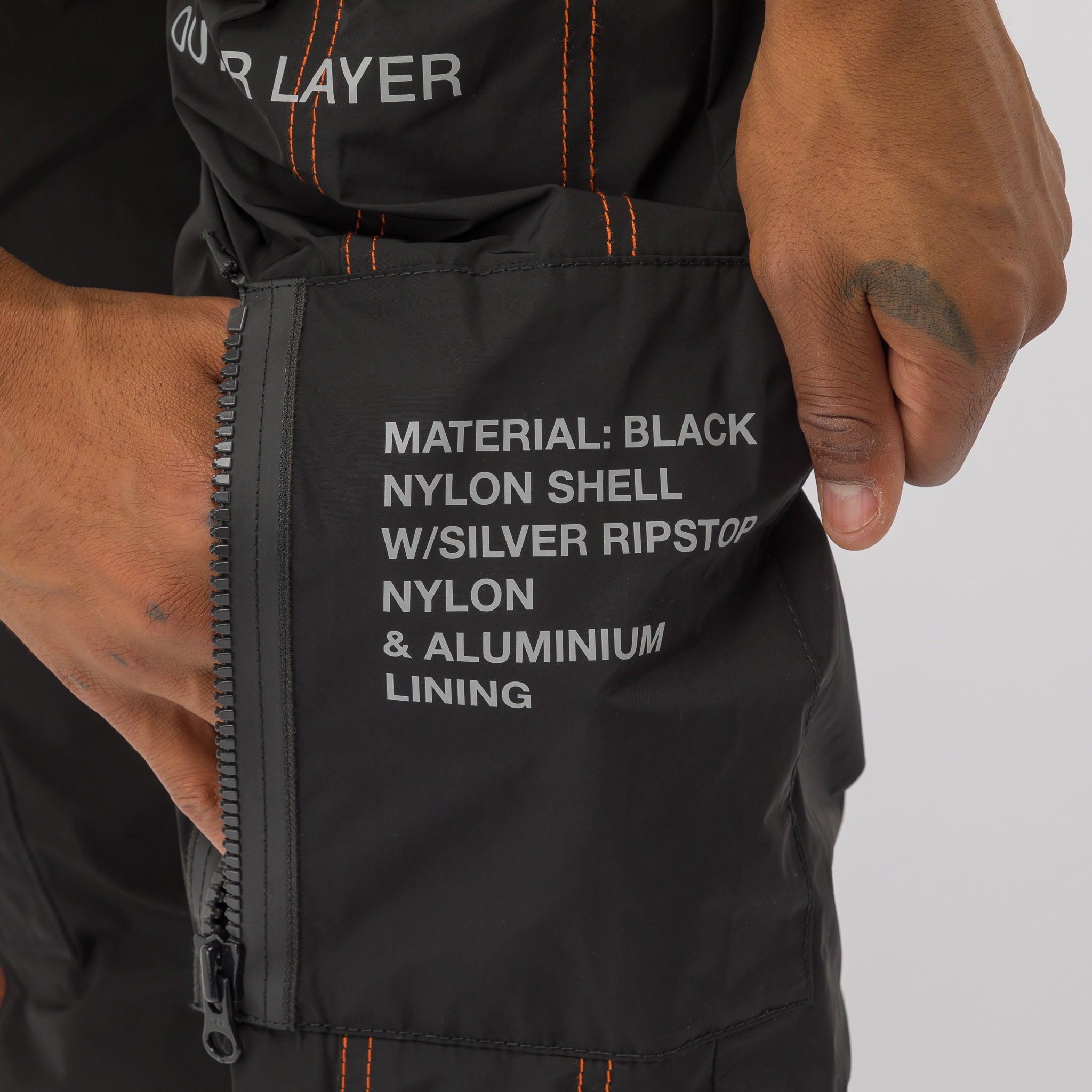 Black NASA High Tech Pants