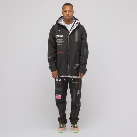 Heron Preston Black NASA High Tech Parka - Notre