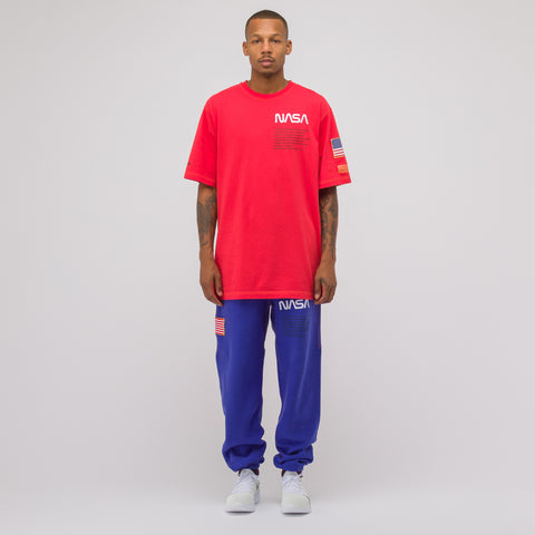 Heron Preston Red NASA S/S Tee - Notre