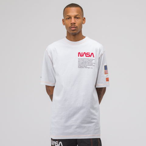 Heron Preston White NASA S/S Tee - Notre