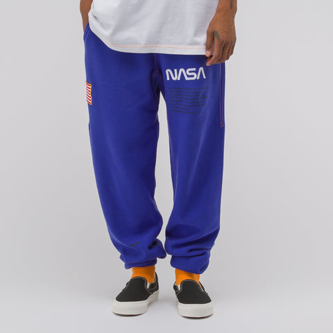 Heron Preston Blue NASA Sweatpant - Notre