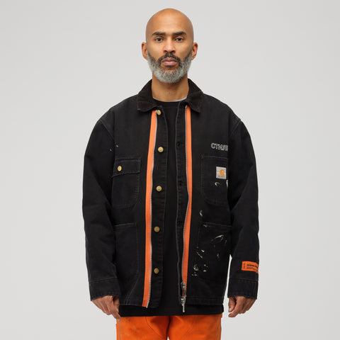 Heron Preston x Carhartt Jacket in Black Crystal - Notre