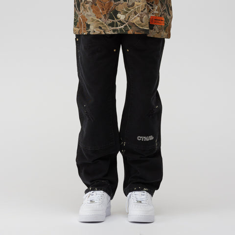 Heron Preston x Carhartt Pants in Black Crystal - Notre