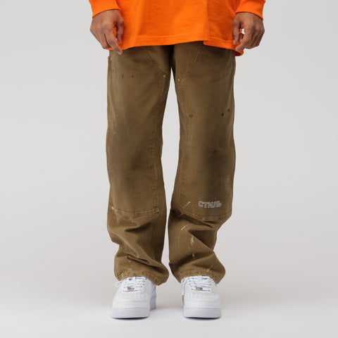 Heron Preston x Carhartt Pants in Kaki Crystal - Notre