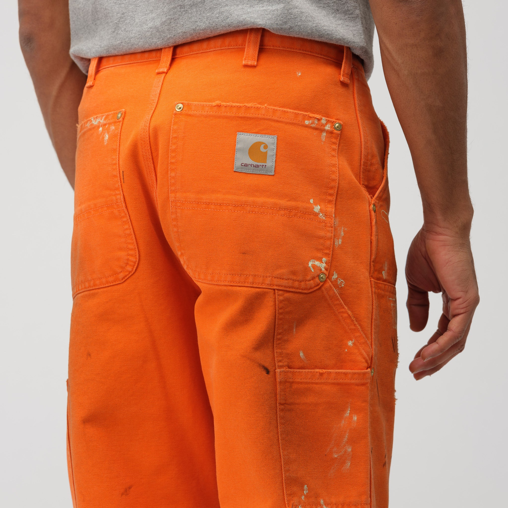 x Carhartt Pants in Orange Crystal