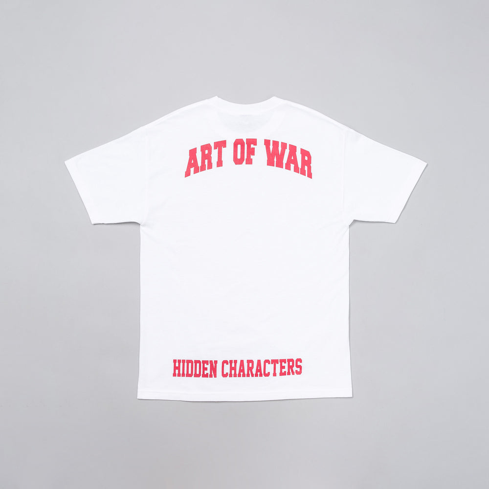 Hidden Characters Art of War Tee in White - Notre