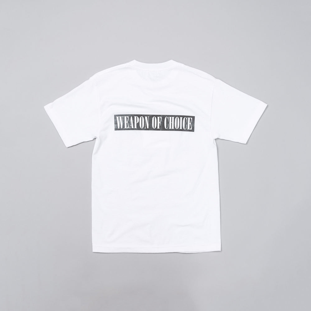 Hidden Characters Weapon of Choice Tee in White - Notre