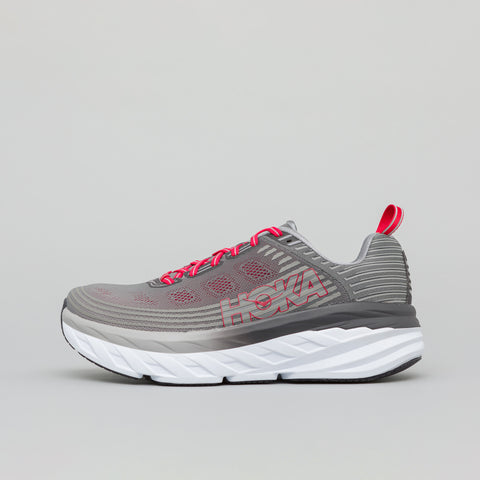 Hoka One One Bondi 6 in Alloy/Steel Grey - Notre