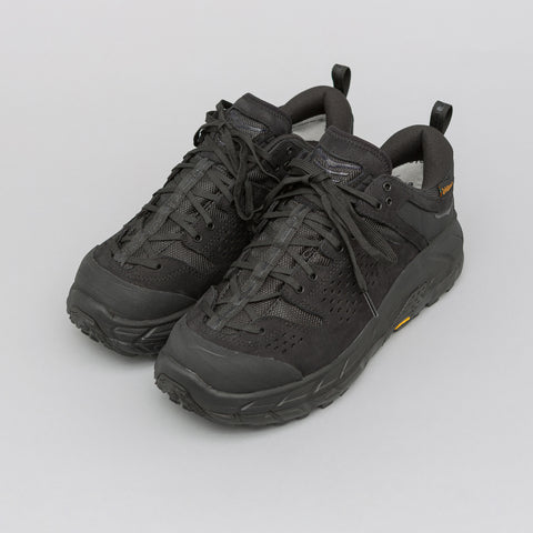 Hoka One One x Engineered Garments Tor Ultra Low in Black - Notre