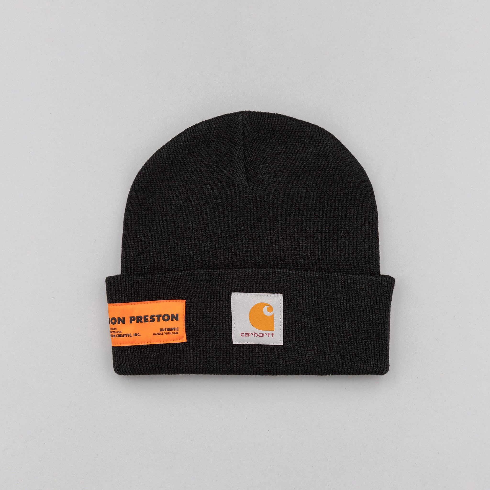 Heron Preston x Carhartt Beanie in Black Crystal  3010bd62ab2