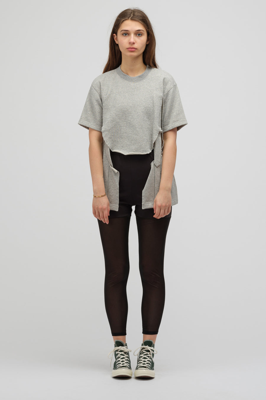 HYKE Knit Leggings in Black - Notre