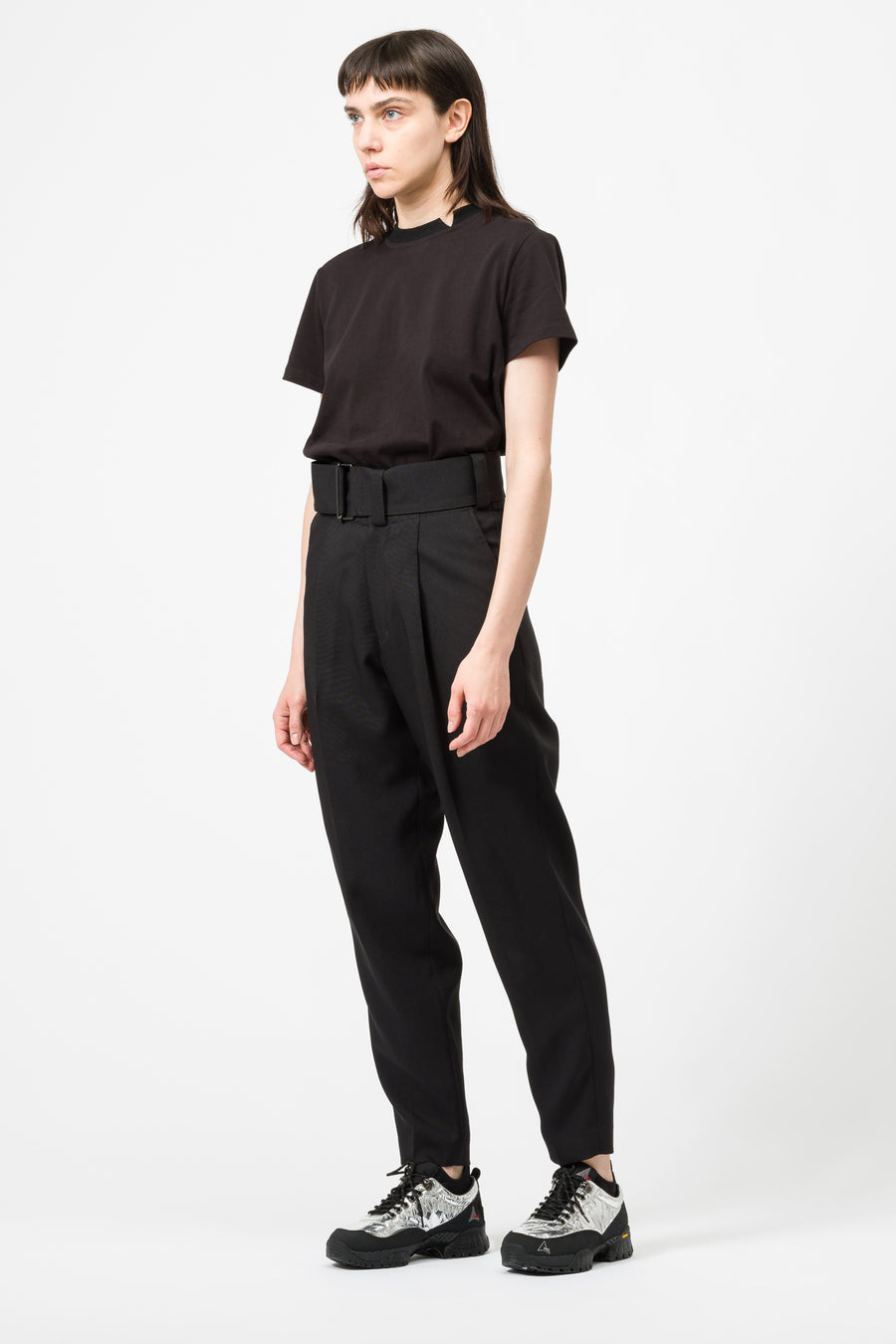 Hyke Woven Pants in Black - Notre