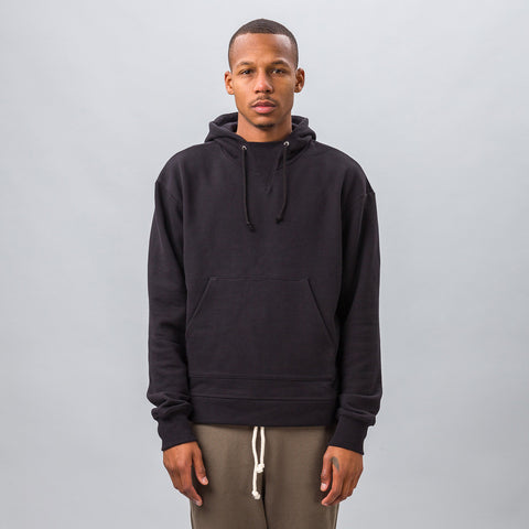 John Elliott Kake Mock Pullover in Black - Notre