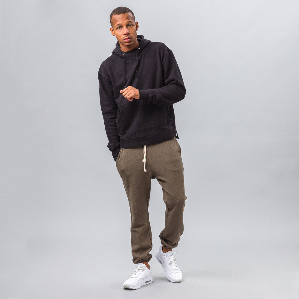 John Elliott - Kake Mock Pullover in Black - Notre - 1