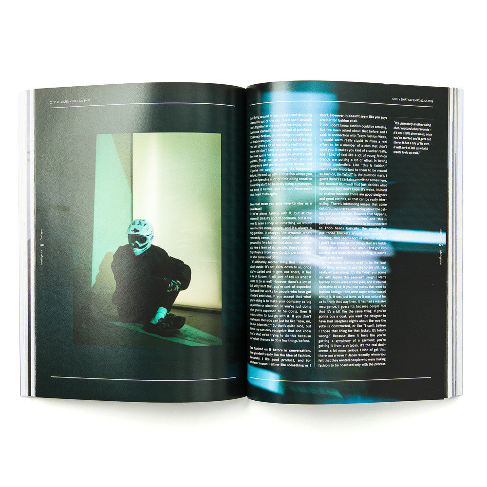 intelligence Magazine 02 - Toby Feltwell and Sk8thing