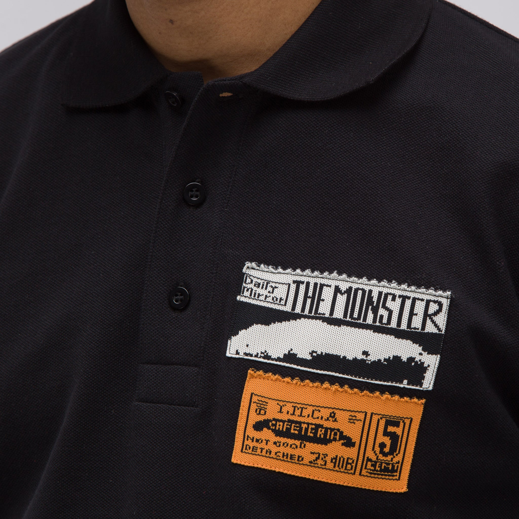 ADS Patches Polo in Black